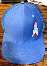 Houston Oilers 1/4 panel snapback cap