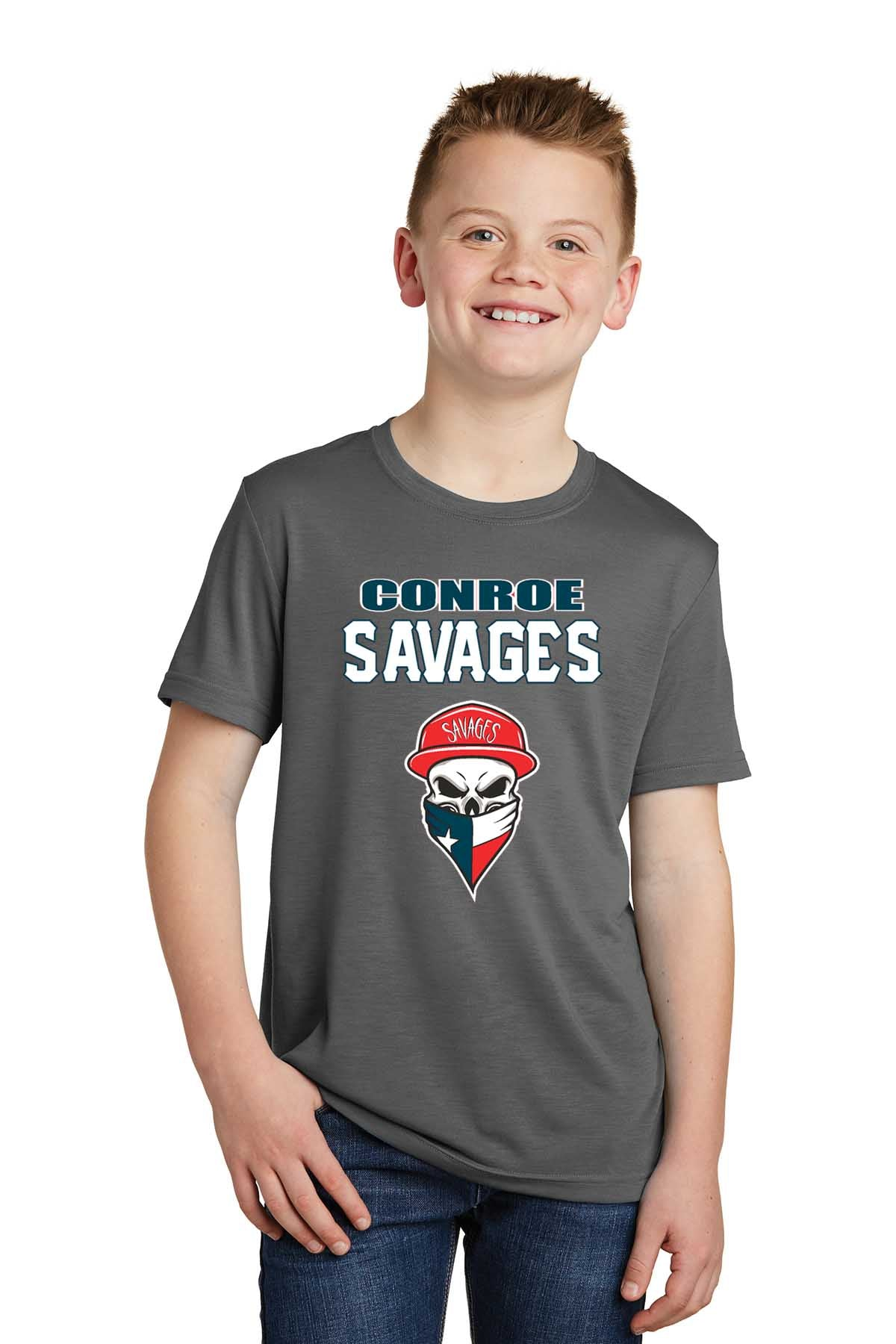 YST450 Sport-Tek® Youth PosiCharge® Competitor™ Cotton Touch™ Tee