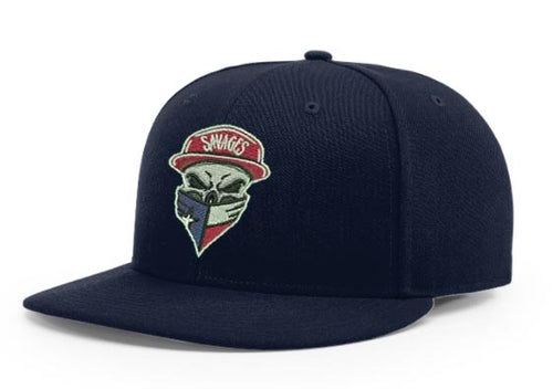 Richardson PTS 65 Navy blue cap with Savages logo