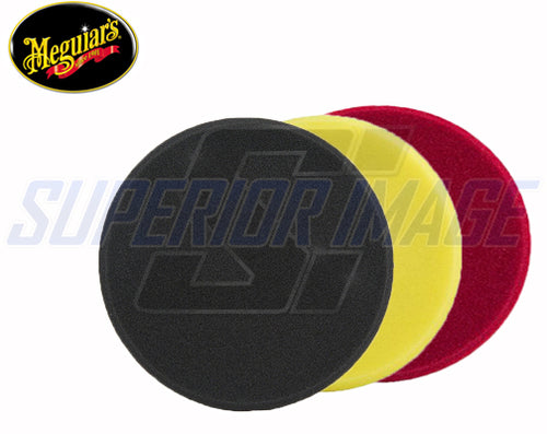 "Meguiar's 7"" Rotary Foam Polisher Pad Combo Kit"
