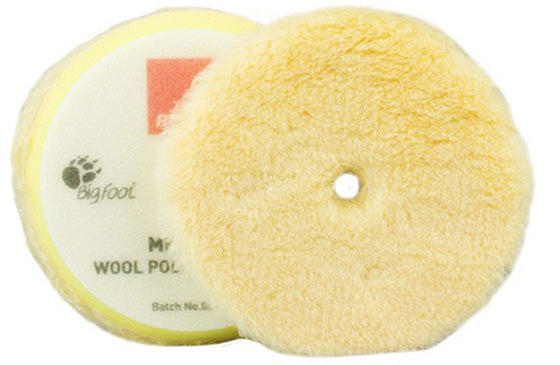 Rupes BigFoot Medium Wool Polishing Pad