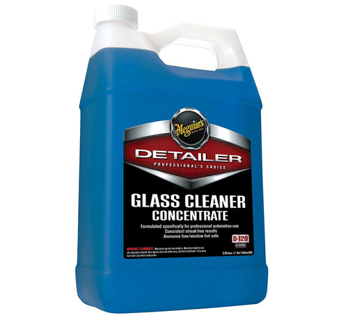 Meguiar's D120 Detailer Glass Cleaner Concentrate, 1 Gallon