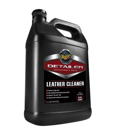 Meguiar's D181 Detailer Leather Cleaner, 1 Gallon