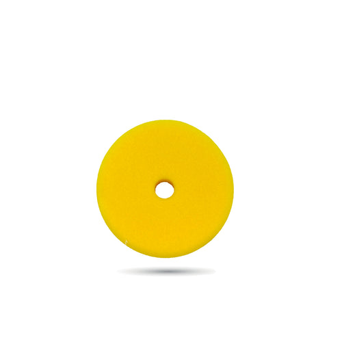 100mm (4 inch) Yellow Fine Foam Pad