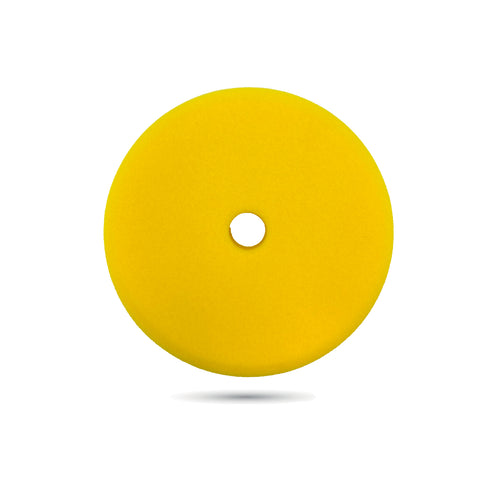 150mm (6 inch) Yellow Fine Foam Pad