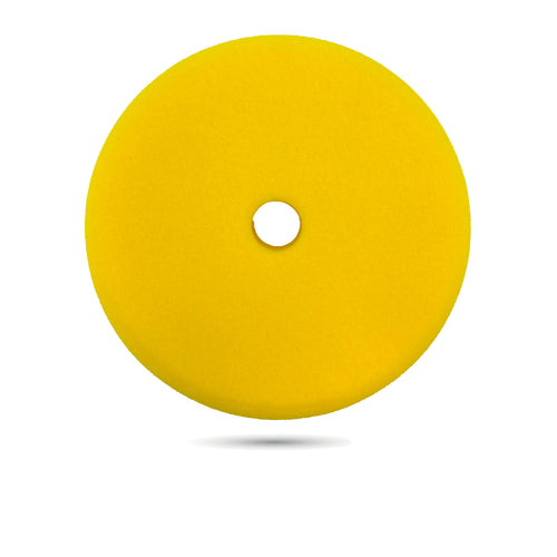 180 mm (7 inch) Yellow Fine Foam Pad