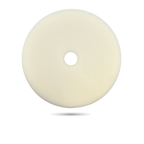 180mm (7 inch) White Ultra Fine Foam Pad