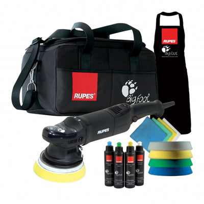 Rupes LHR 15ES Big Foot Random Orbital Polisher Deluxe Kit FREE SHIPPING!
