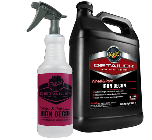 D18001 Wheel & Paint IRON DECON