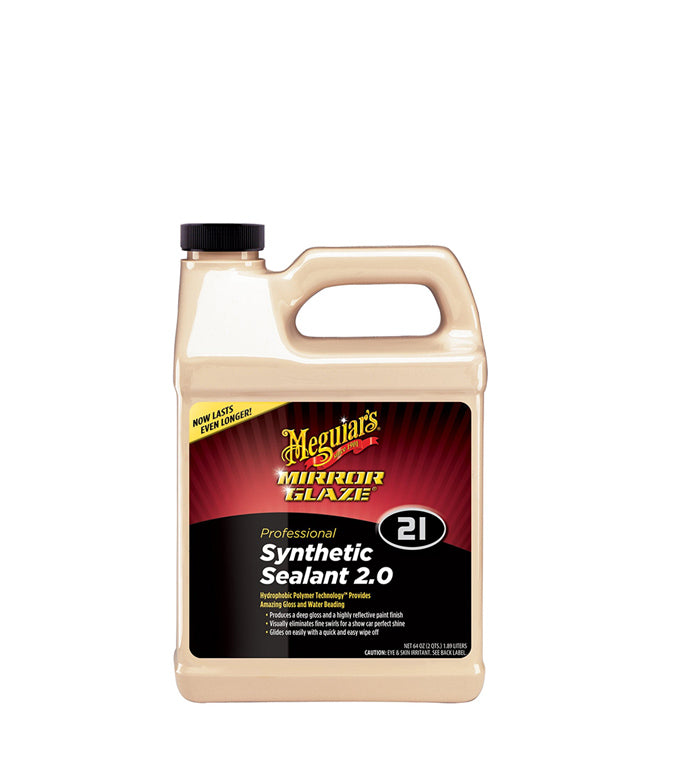 Meguiar's M21 Mirror Glaze Synthetic Sealant 2.0, 64 oz.