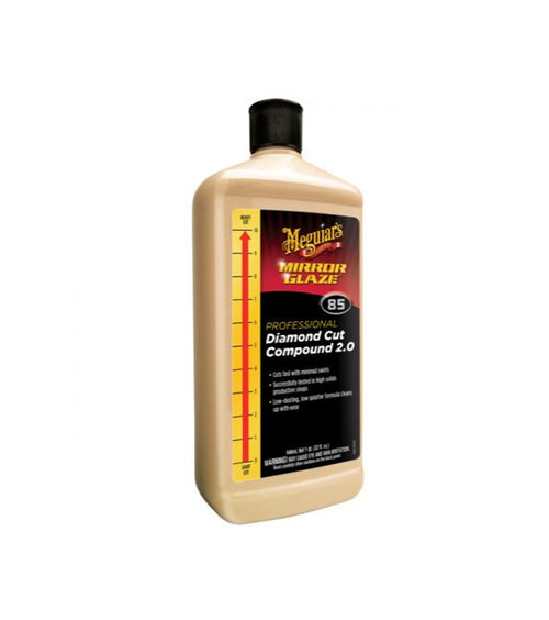 Meguiar's M85 Mirror Glaze Diamond Compound Cut 2.0, 32 oz.