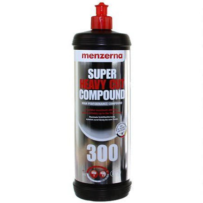 Menzerna Super Heavy Cut Compound 300 - Quart