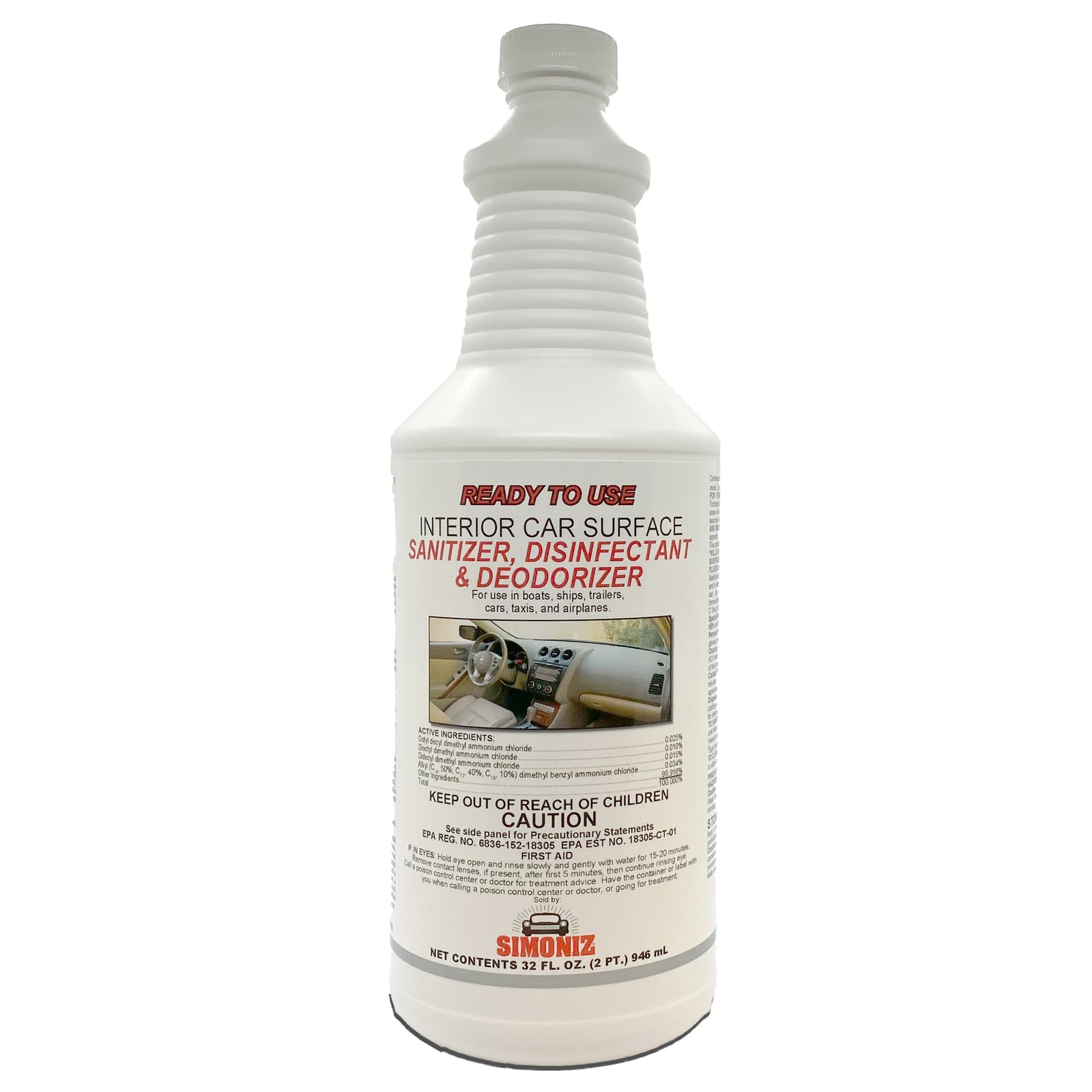 RTU Interior Sanitizer Disinfectant