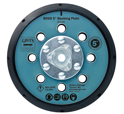 BOSS™ BACKING PLATE