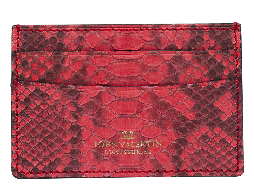 Card Holder Red Python