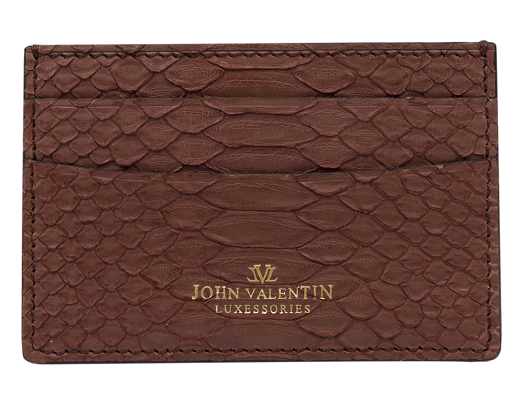 Card Holder Brown Python