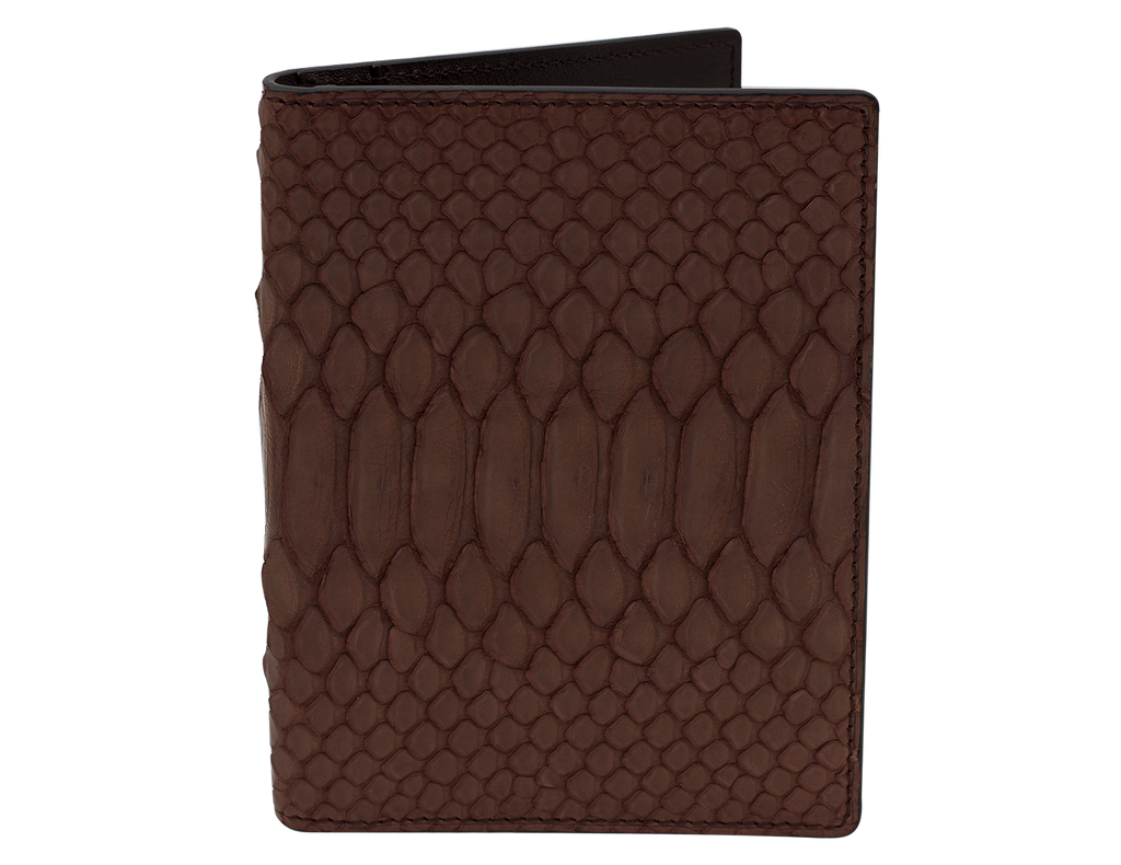 Passport Holder Brown Python