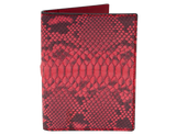 Passport Holder Red Python