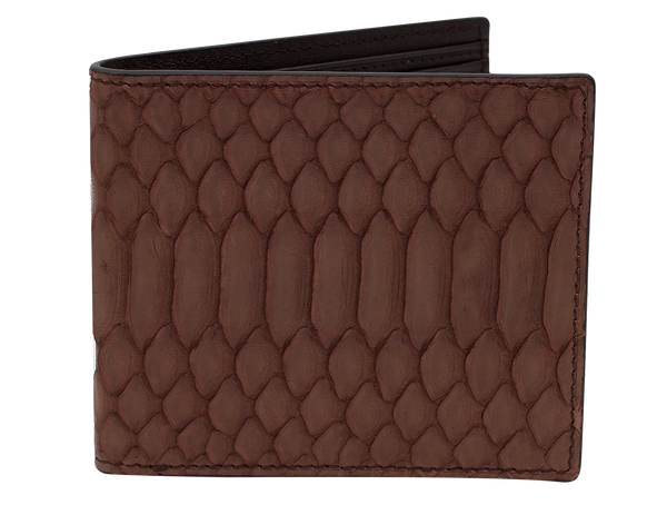 Fold Wallet Brown Python
