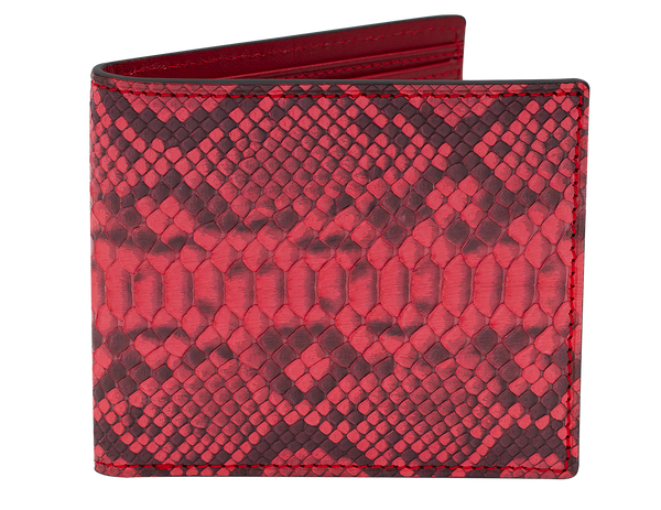 Fold Wallet Red Python