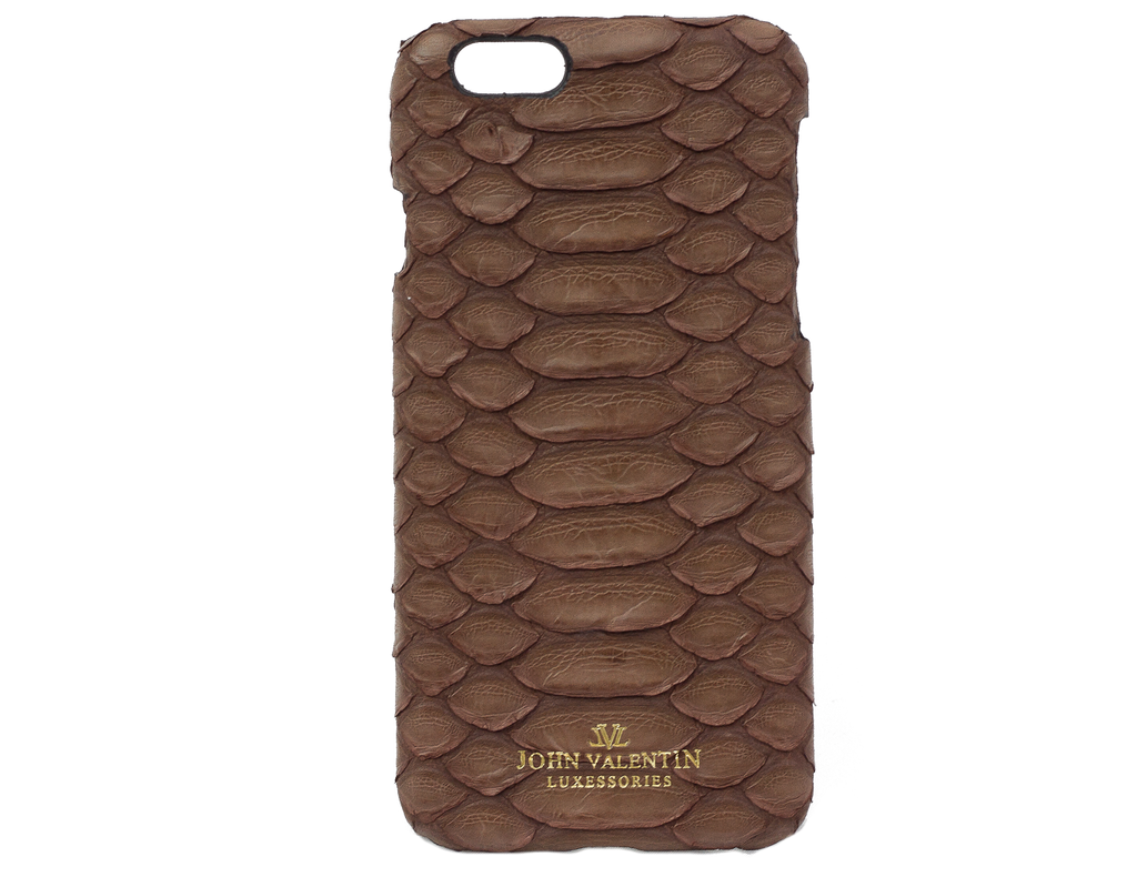 Phone Case Brown Python