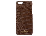 Phone Case Brown Alligator