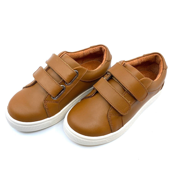 Harrison Two Strap Caramel Footwear Cardin McCoy