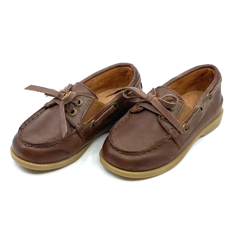 Kids' Boat Shoe Chocolate Footwear Cardin McCoy