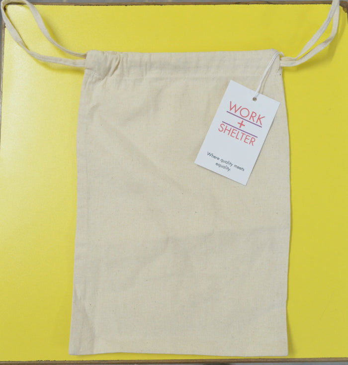 RECTANGLE DRAWSTRING BAG - LARGE