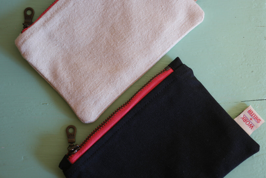 Zip Pouch - Large