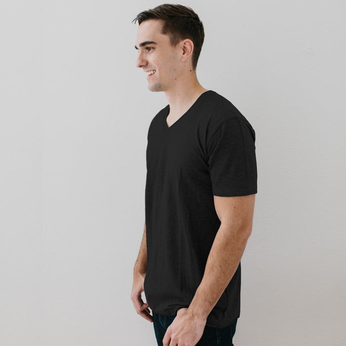 UNISEX V-NECK TEE - Sample