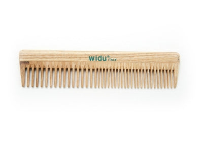 Widu Wooden Comb with Thin Spaced Teeth