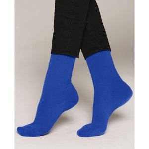 Wool & Cashmere Socks - Blue Intense