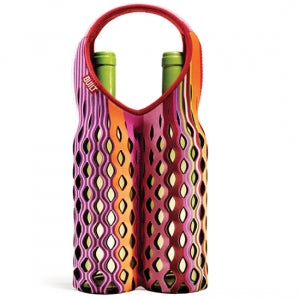 Fishnet Two Bottle Wine Tote