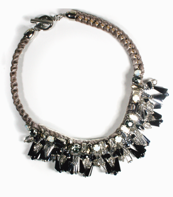 Andrea Black Necklace