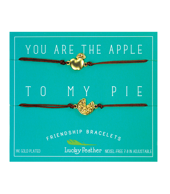 Apple and Pie Friendship Bracelet Set