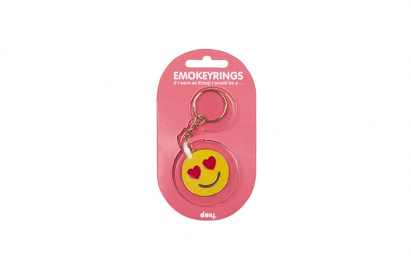 Emoji Key Ring - In Love