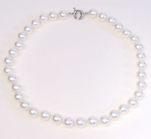 White Shell Pearls 10mm
