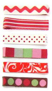 Bugalug Barrettes (Pair) - Really Red