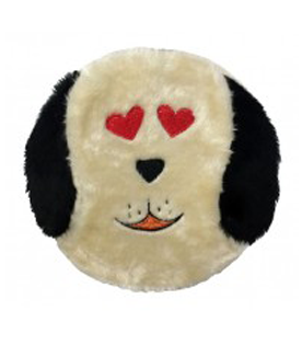 Full Body Squeaker Funny Face Dog Toy