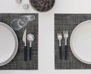 Tablemats - Basketweave in Wheat