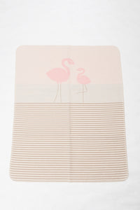 Juwel Flamingo and Stripes in Light Pink