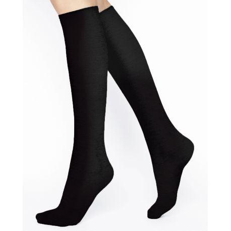 Fine Wool Kneehighs Women Sock with Cotton Inside