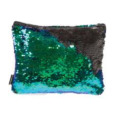 Magic Sequin Pouch - Mermaid/Black