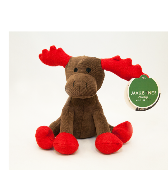 Canadian Moose Woolie Dog Toy