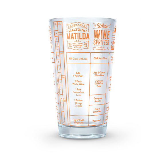 Good Measure recipe glass - Wine