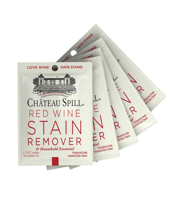 Red Wine Stain Remover Towelette