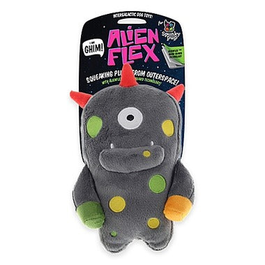 Spunky Pup Alien Dog Toy