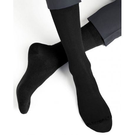 Plain Seamless Cotton Men Socks (pack of 2)