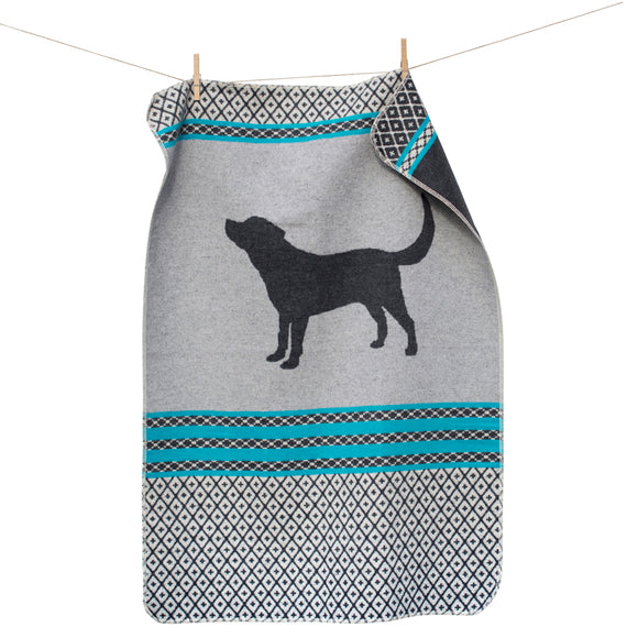 Grey Dog Pet Blanket 70x90cm